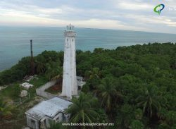 Trip to Punta Allen – Punta Allen Lighthouse via Drone